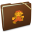 64x64px size png icon of Brown Elastic Game