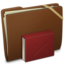64x64px size png icon of Brown Elastic Library