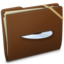 64x64px size png icon of Brown Elastic Music