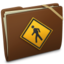 64x64px size png icon of Brown Elastic Public