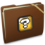64x64px size png icon of Brown Elastic Question