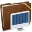 64x64px size png icon of Brown Elastic iMac