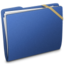 64x64px size png icon of Elastic Generic Blue