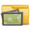 64x64px size png icon of Folder Photo