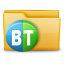 64x64px size png icon of Folder Torrent
