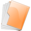 64x64px size png icon of Folder Orange
