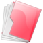 64x64px size png icon of Folder Pink