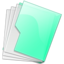 64x64px size png icon of Green Folder