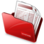 64x64px size png icon of Folder invoices