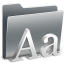 64x64px size png icon of 3D Fonts