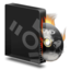 64x64px size png icon of Dvd burner firewire burning