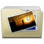 64x64px size png icon of beige folder pictures alt
