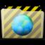 64x64px size png icon of beige folder webdev
