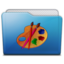 64x64px size png icon of folder art
