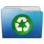 64x64px size png icon of folder recycle