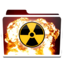 64x64px size png icon of White Burn