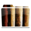 64x64px size png icon of White Library Alt