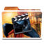 64x64px size png icon of White Movies Alt