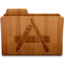64x64px size png icon of Applications Wood