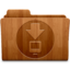 64x64px size png icon of Downloads Wood