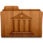 64x64px size png icon of Library Wood
