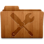 64x64px size png icon of Utilities Wood