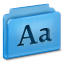 64x64px size png icon of Fonts