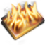 64x64px size png icon of Burn