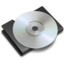64x64px size png icon of CD Black