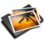 64x64px size png icon of Pictures Black