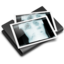 64x64px size png icon of Thorax X Ray Black