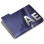 64x64px size png icon of Adobe After Effects CS3 Overlay
