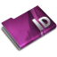 64x64px size png icon of Adobe InDesign CS3 Overlay