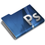 64x64px size png icon of Adobe Photoshop CS3 Overlay
