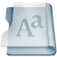 64x64px size png icon of Graphite font