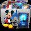 64x64px size png icon of Folder TV Disney
