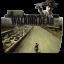 64x64px size png icon of Folder TV WALKING dead