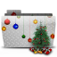 64x64px size png icon of Folder Xmas Tree