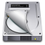 64x64px size png icon of Internal Drive Half open