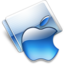 64x64px size png icon of Apple aqua