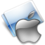 64x64px size png icon of Apple gray
