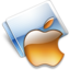 64x64px size png icon of Apple tangerine