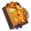 64x64px size png icon of Folder Burnable