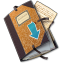 64x64px size png icon of Folder Drop
