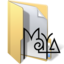 64x64px size png icon of maya files 2
