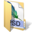 64x64px size png icon of psd files