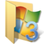 64x64px size png icon of vista folders 3
