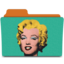 64x64px size png icon of warhol marilyn