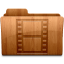 64x64px size png icon of Glossy Movies