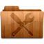 64x64px size png icon of Glossy Utilities